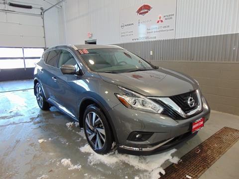 2018 Nissan Murano for sale in Cedar Falls, IA