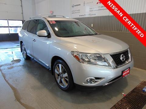 2016 Nissan Pathfinder for sale in Cedar Falls, IA