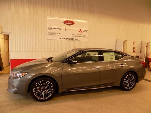 2017 Nissan Maxima for sale in Cedar Falls, IA