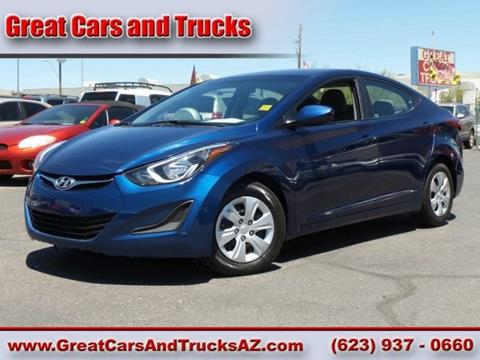 2016 Hyundai Elantra for sale in Glendale, AZ