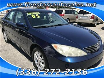 2005 Toyota Camry for sale in Greensboro, NC
