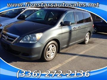2005 Honda Odyssey for sale in Greensboro, NC