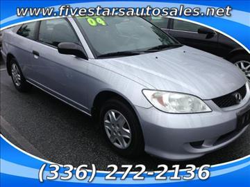 2004 Honda Civic for sale in Greensboro, NC
