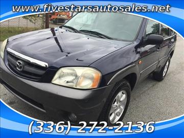 2003 Mazda Tribute for sale in Greensboro, NC