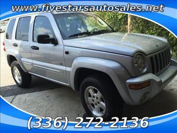 2002 Jeep Liberty for sale in Greensboro, NC