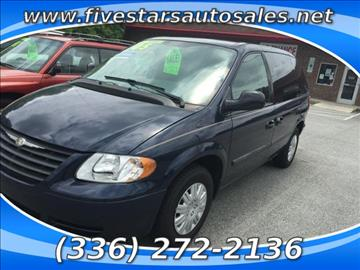 2005 Chrysler Town and Country for sale in Greensboro, NC