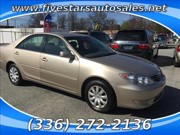 Used 2005 Toyota Camry For Sale  Carsforsalecom