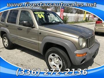 2004 Jeep Liberty for sale in Greensboro, NC