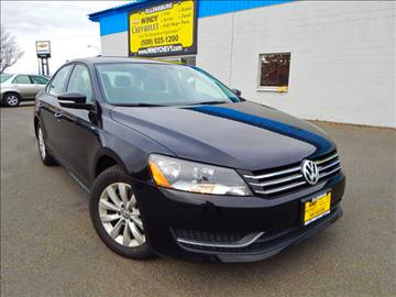 2015 Volkswagen Passat for sale in Ellensburg, WA