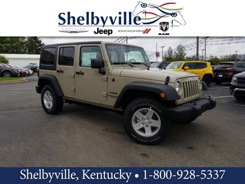 2017 Jeep Wrangler Unlimited for sale in Shelbyville, KY
