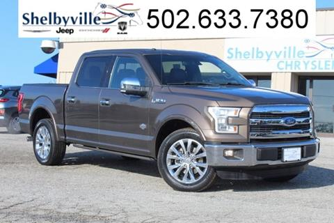 2016 Ford F-150 for sale in Shelbyville, KY