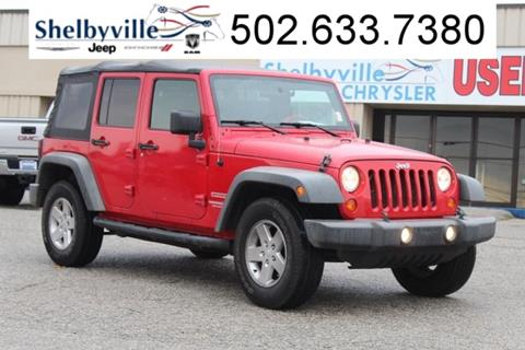 2010 Jeep Wrangler Unlimited for sale in Shelbyville, KY