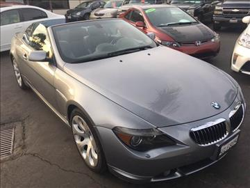 2004 BMW 6 Series for sale at CARSTER in Huntington Beach CA