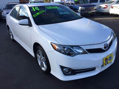 2014 Toyota Camry for sale at CARSTER in Huntington Beach CA