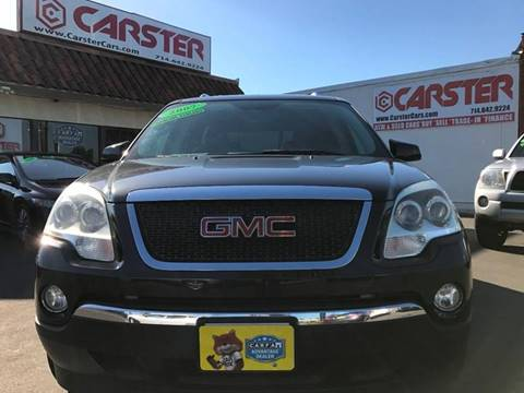 2007 GMC Acadia for sale at CARSTER in Huntington Beach CA