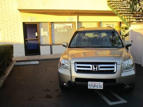 2006 Honda Pilot for sale at CARSTER in Huntington Beach CA