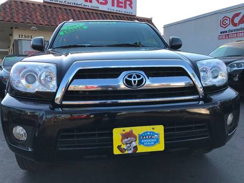 2007 Toyota 4Runner for sale at CARSTER in Huntington Beach CA