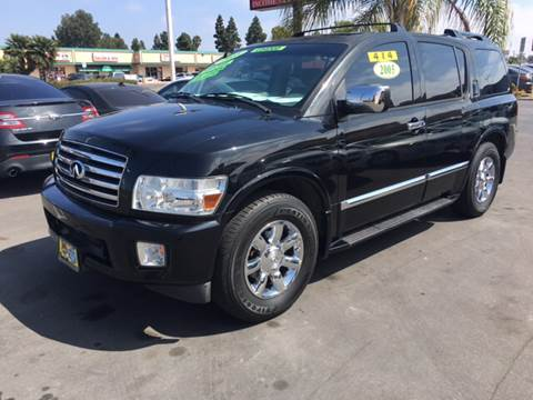 2005 Infiniti QX56 for sale at CARSTER in Huntington Beach CA