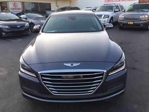 2015 Hyundai Genesis for sale at CARSTER in Huntington Beach CA