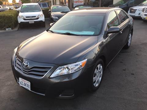 2011 Toyota Camry for sale at CARSTER in Huntington Beach CA