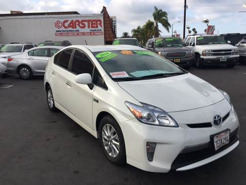 2014 Toyota Prius Plug-in Hybrid for sale at CARSTER in Huntington Beach CA