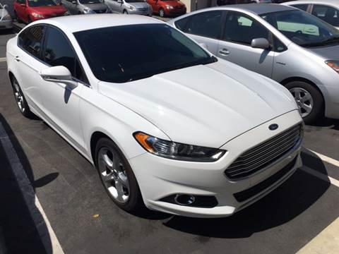 2016 Ford Fusion for sale at CARSTER in Huntington Beach CA