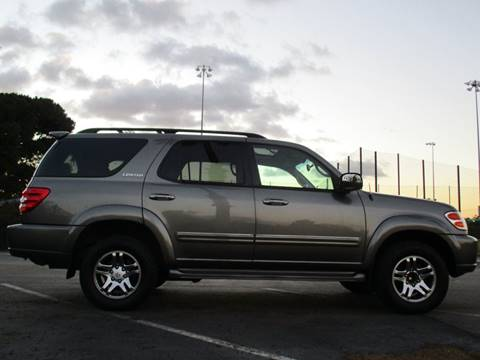 2004 Toyota Sequoia for sale at CARSTER in Huntington Beach CA