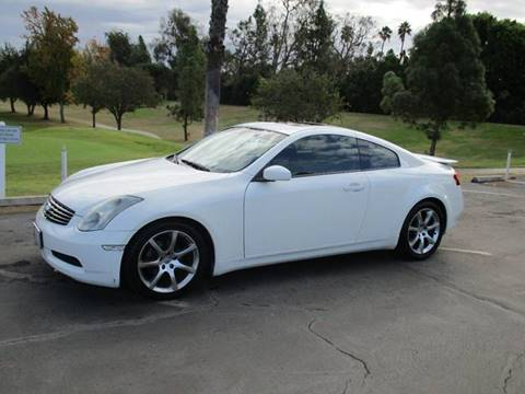 2003 Infiniti G35 for sale at CARSTER in Huntington Beach CA