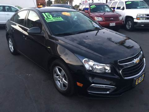 2015 Chevrolet Cruze for sale at CARSTER in Huntington Beach CA