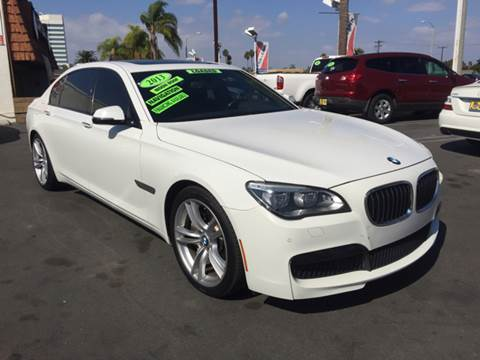 2013 BMW 7 Series for sale at CARSTER in Huntington Beach CA