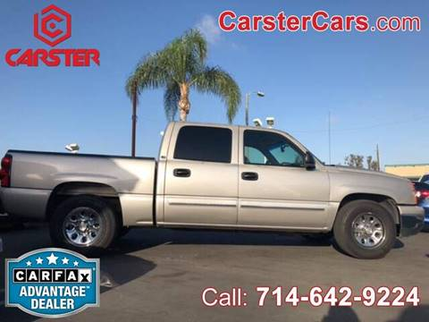 2006 Chevrolet Silverado 1500 for sale at CARSTER in Huntington Beach CA