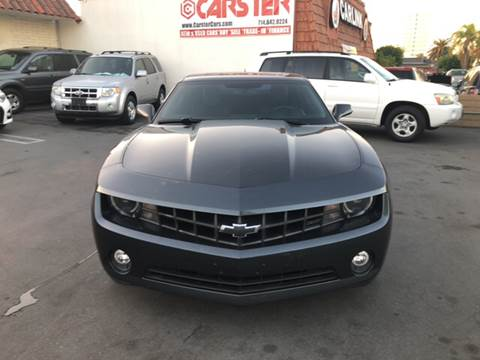 2013 Chevrolet Camaro for sale at CARSTER in Huntington Beach CA