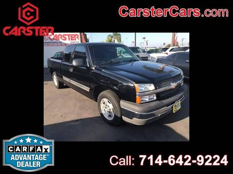 2005 Chevrolet Silverado 1500 for sale at CARSTER in Huntington Beach CA