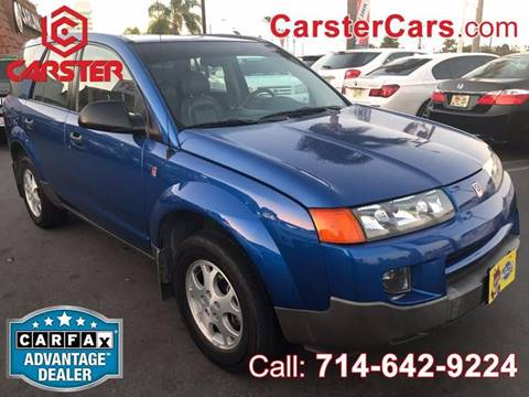 2003 Saturn Vue for sale at CARSTER in Huntington Beach CA