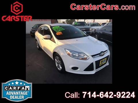 2014 Ford Focus for sale at CARSTER in Huntington Beach CA