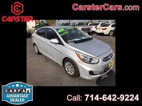 2015 Hyundai Accent for sale at CARSTER in Huntington Beach CA