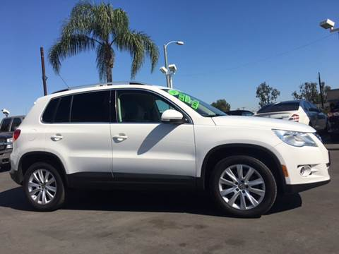 2009 Volkswagen Tiguan for sale at CARSTER in Huntington Beach CA