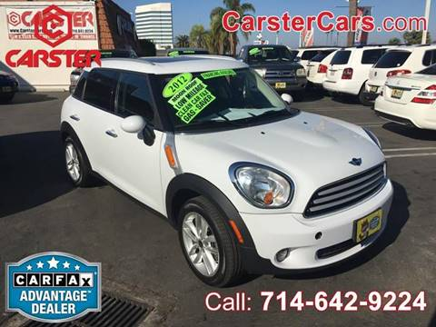 2012 MINI Cooper Countryman for sale at CARSTER in Huntington Beach CA