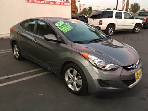 2013 Hyundai Elantra for sale at CARSTER in Huntington Beach CA