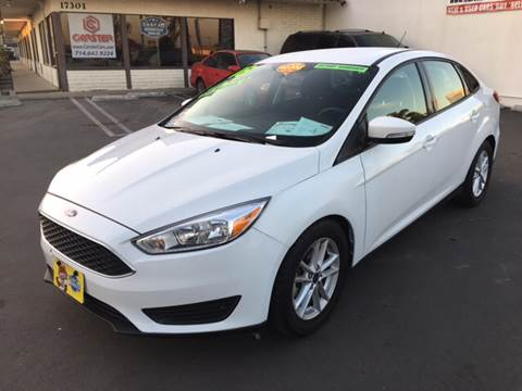 2016 Ford Focus for sale at CARSTER in Huntington Beach CA