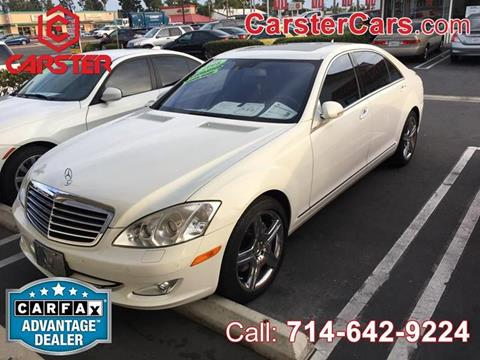 2008 Mercedes-Benz S-Class for sale at CARSTER in Huntington Beach CA