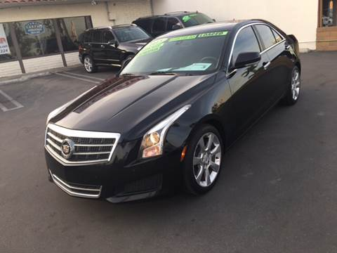 2013 Cadillac ATS for sale at CARSTER in Huntington Beach CA