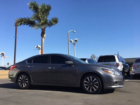 2017 Nissan Altima for sale at CARSTER in Huntington Beach CA