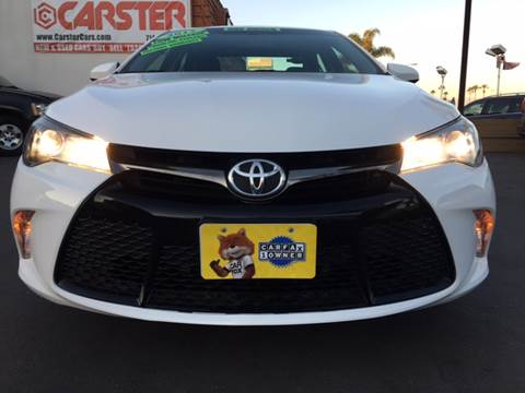 2015 Toyota Camry for sale at CARSTER in Huntington Beach CA