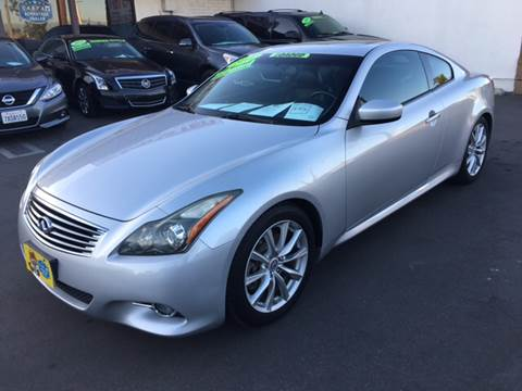 2012 Infiniti G37 Coupe for sale at CARSTER in Huntington Beach CA