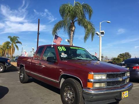 1996 Chevrolet C/K 1500 Series for sale at CARSTER in Huntington Beach CA