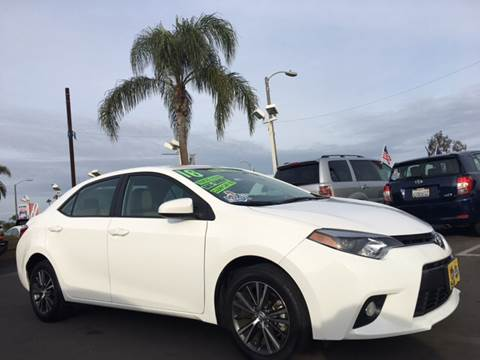 2016 Toyota Corolla for sale at CARSTER in Huntington Beach CA