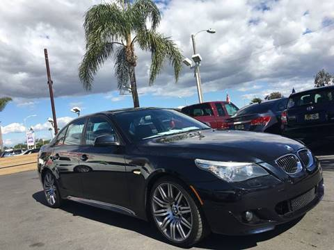 2010 BMW 5 Series for sale at CARSTER in Huntington Beach CA