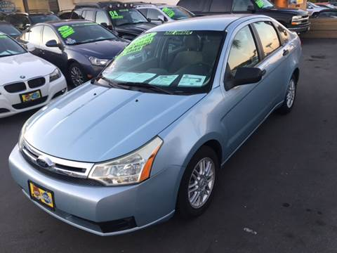 2009 Ford Focus for sale at CARSTER in Huntington Beach CA