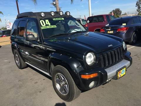 2004 Jeep Liberty for sale at CARSTER in Huntington Beach CA